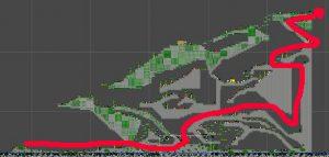Stinky Snake Level Map